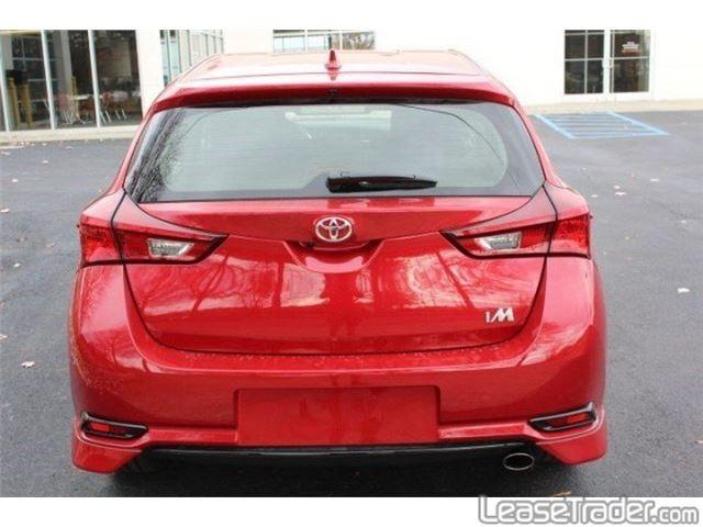 2017 Toyota Corolla iM Hatchback Rear