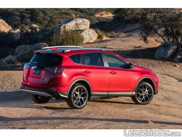 2017 Toyota Rav4 LE Rear