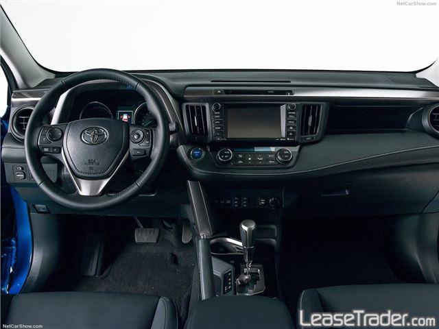 2017 Toyota Rav4 XLE Dashboard