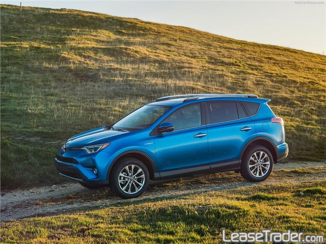 2017 Toyota Rav4 XLE Side