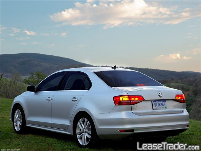 2017 Volkswagen Jetta 1.4T S Sedan Rear