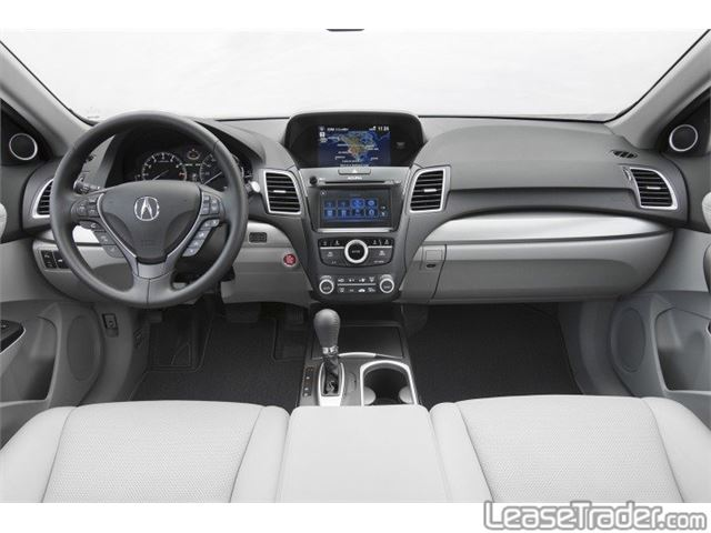 2018 Acura RDX Technology Package Dashboard