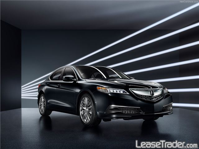 2018 Acura TLX 4-CYL Technology Package Front