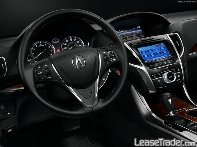 2018 Acura TLX 4-CYL Technology Package Interior