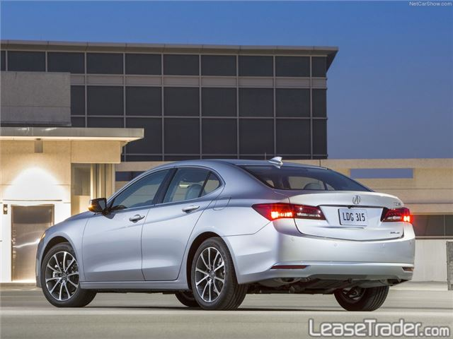 2018 Acura TLX 4-CYL Technology Package Rear