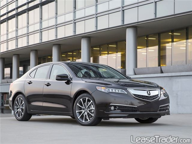2018 Acura TLX 4-CYL Technology Package Side