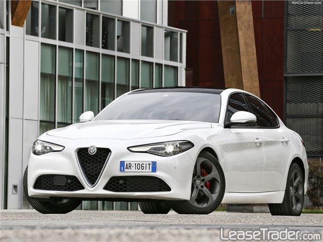 2018 Alfa Romeo Giulia Sedan Front