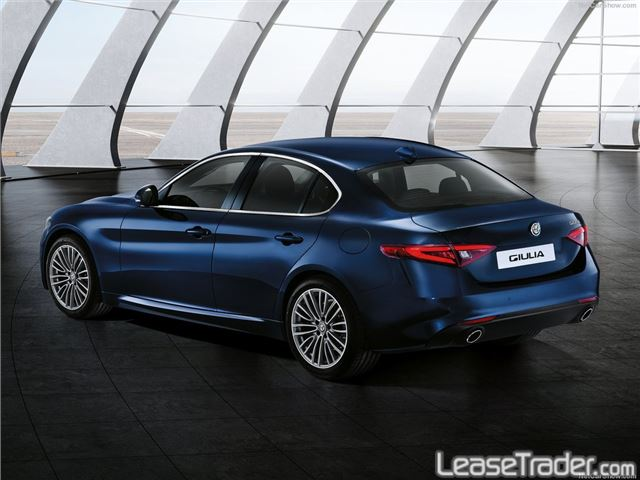 2018 Alfa Romeo Giulia Sedan Rear