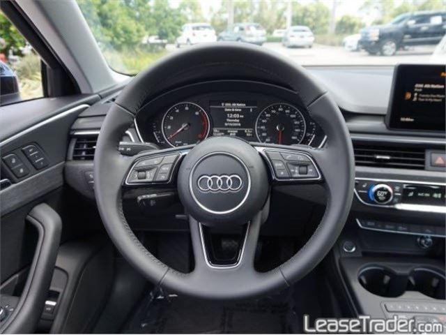 2018 Audi A4 Premium Dashboard