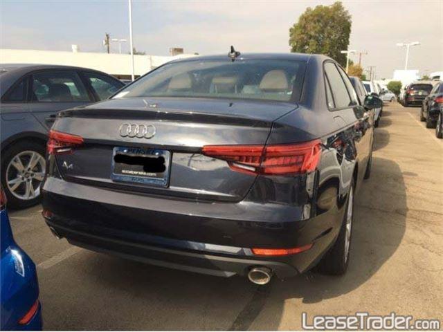 2018 Audi A4 Premium Rear