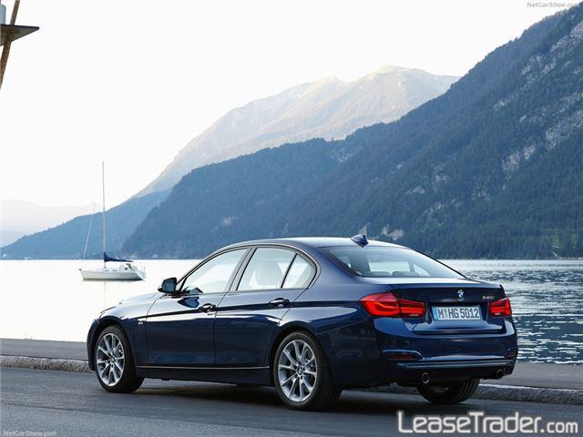 2018 BMW 320i xDrive Sedan Rear