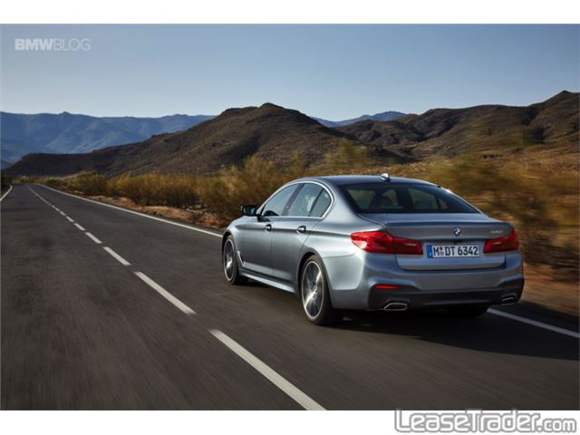 2018 BMW 530i Rear