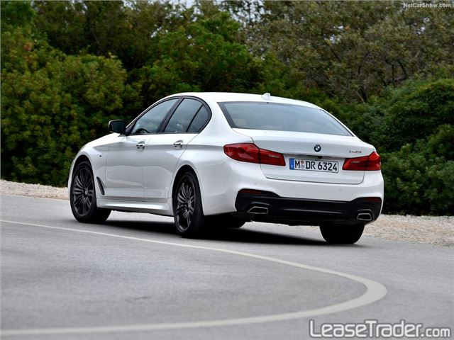 2018 BMW 530i xDrive Sedan Rear