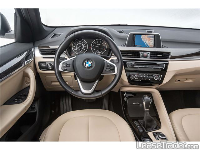 2018 BMW X1 sDrive28i Dashboard
