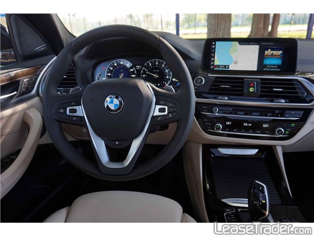 2018 BMW X3 xDrive30i Dashboard