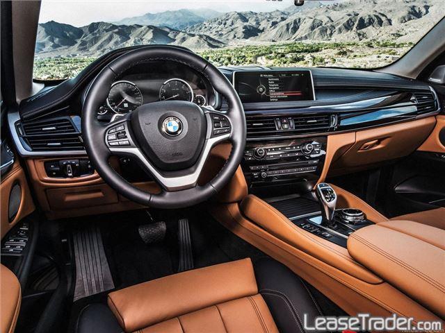 2018 BMW X6 xDrive35i Interior