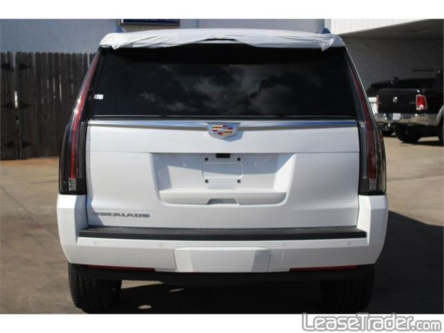 2018 Cadillac Escalade Luxury SUV Rear