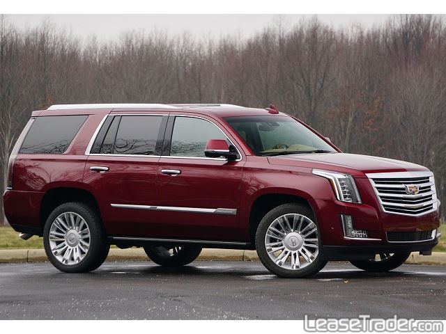 2018 Cadillac Escalade SUV Side