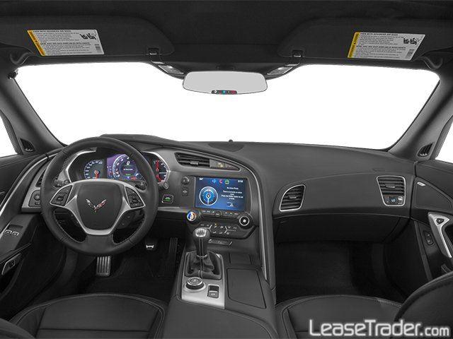 2018 Chevrolet Corvette Stingray 1LT Coupe Dashboard