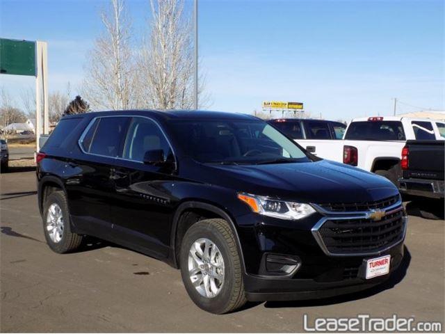 2018 Chevrolet Traverse LS Front