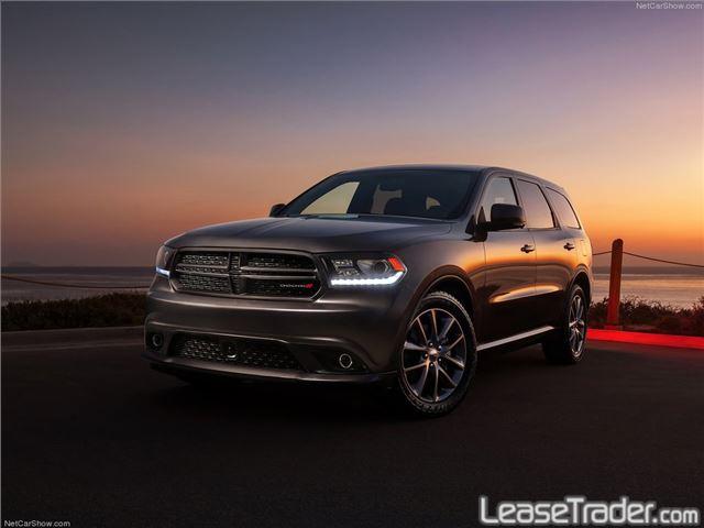 2018 Dodge Durango SXT Front