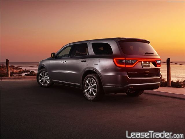 2018 Dodge Durango SXT Rear