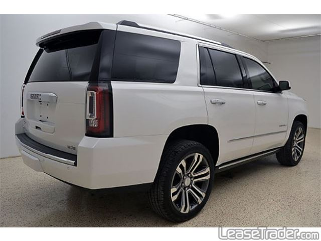 2018 GMC Yukon Denali Rear