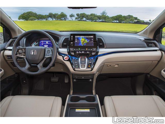 2018 Honda Odyssey LX Dashboard