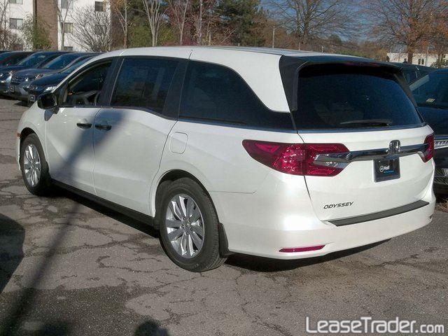 2018 Honda Odyssey LX Side