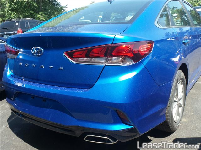 2018 Hyundai Sonata SE Sedan Rear