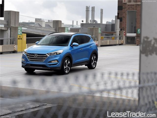 2018 Hyundai Tucson SE Front