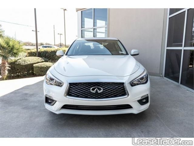 2018 Infiniti Q50 2.0t Luxe Front