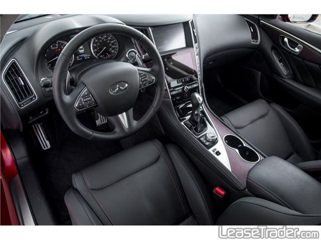 2018 Infiniti Q50 3.0t Luxe Dashboard