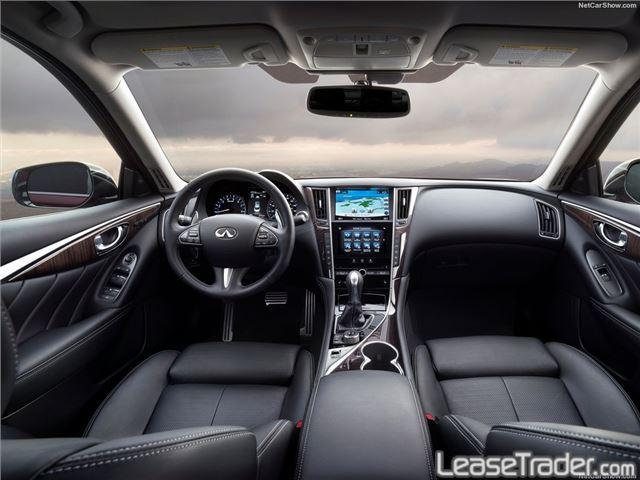 2018 Infiniti Q50 3.0t Luxe Interior