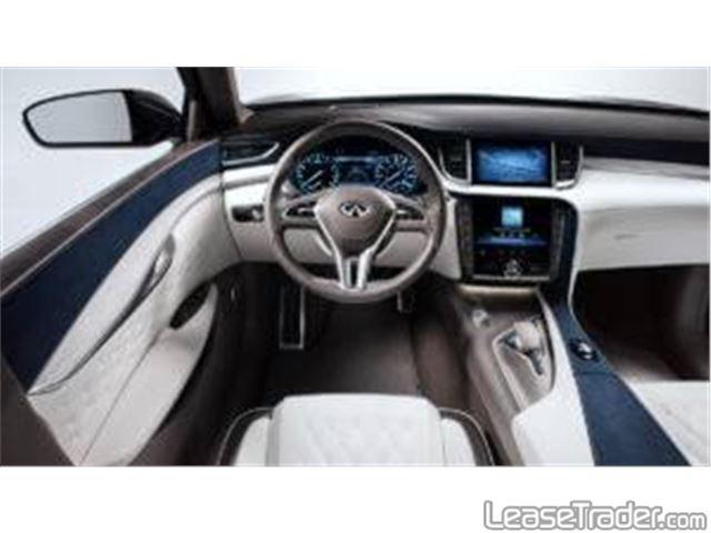 2018 Infiniti QX50 SUV Dashboard