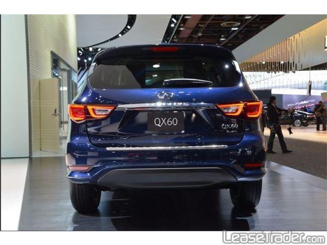 2018 Infiniti QX60 SUV Rear
