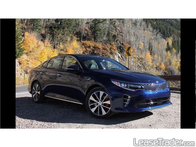 2018 Kia Optima LX 1.6T Sedan Front