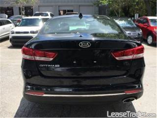 2018 Kia Optima LX 1.6T Sedan Rear