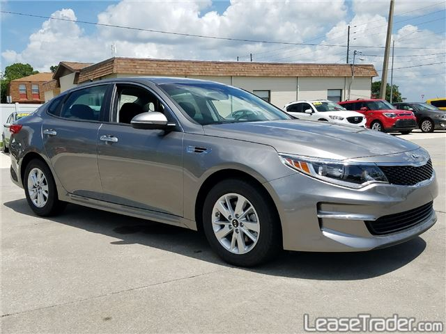 2018 Kia Optima LX 1.6T Sedan Side