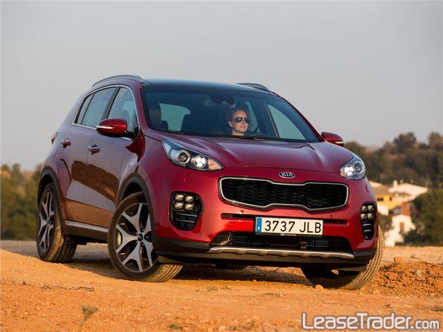 2018 Kia Sportage LX Front