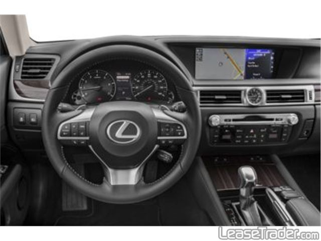 2018 Lexus GS 350 Dashboard