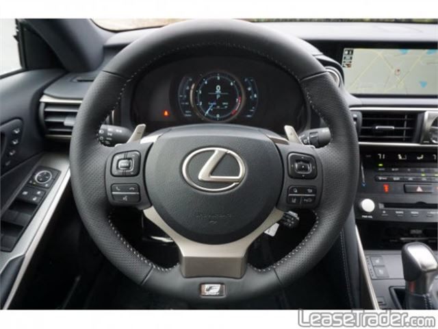 2018 Lexus IS 300 Dashboard