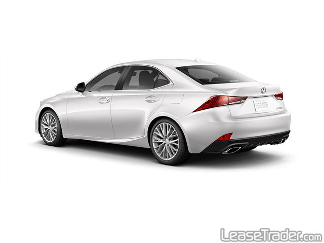 2018 Lexus IS 300 Rear
