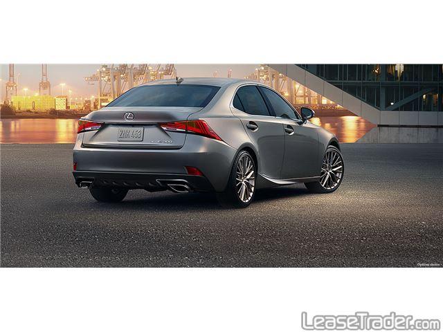 2018 Lexus IS 300 Rear