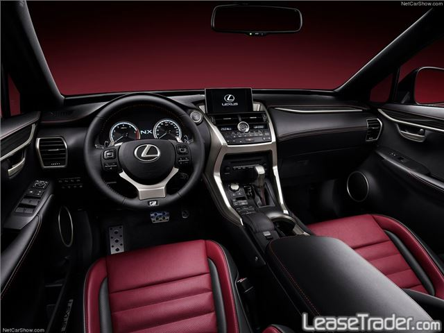 2018 Lexus NX Series NX 300 Interior