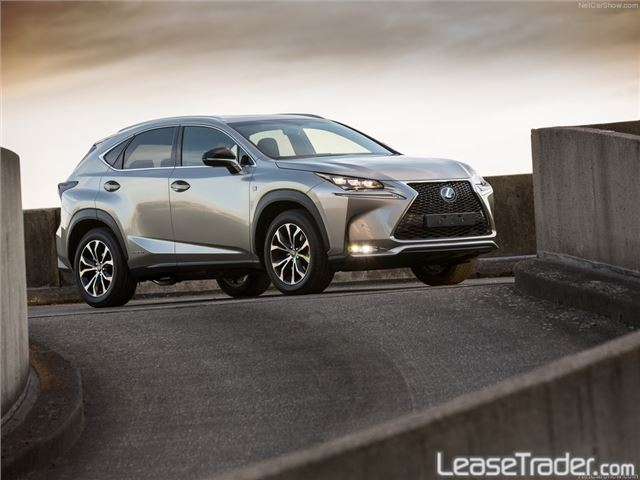 2018 Lexus NX Series NX 300 Side