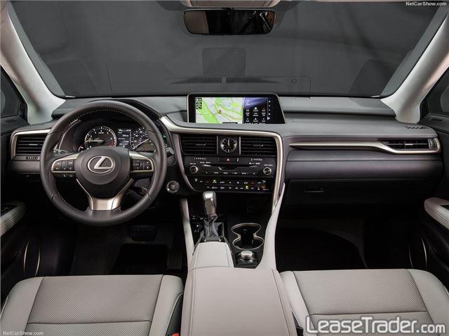 2018 Lexus RX 350 Dashboard