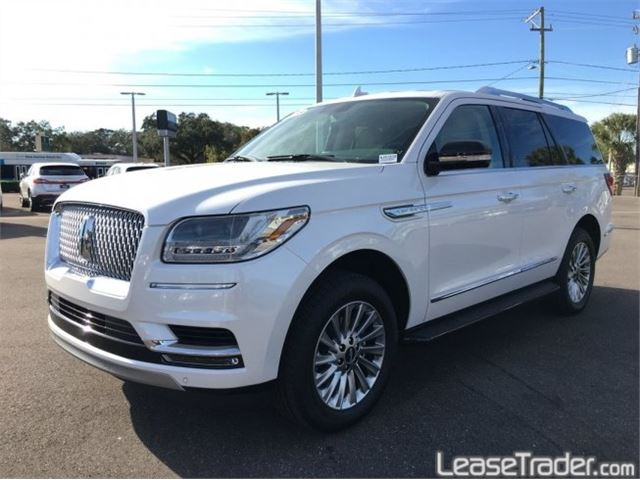 2018 Lincoln Navigator Reserve Side