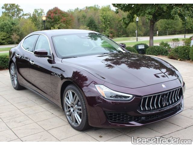 2018 Maserati Ghibli Sedan Side
