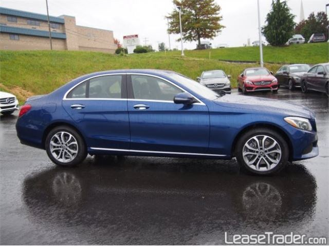 2018 Mercedes-Benz C300 4MATIC Sedan Side